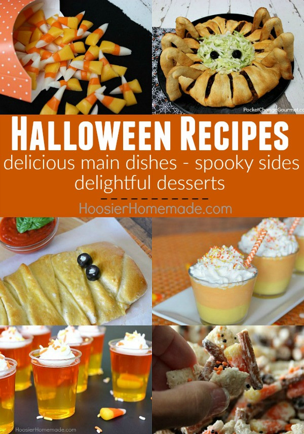 Halloween Party Main Dishes  Ultimate Halloween Round up Hoosier Homemade