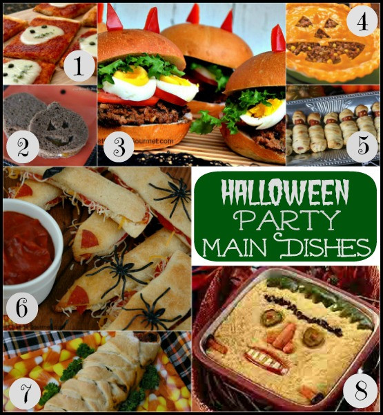 Halloween Party Main Dishes  Halloween Food Scarecrow Tostadas Recipe