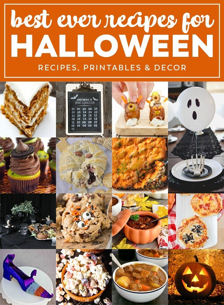 Halloween Party Main Dishes  Best Ever Halloween Recipes Julie s Eats & Treats