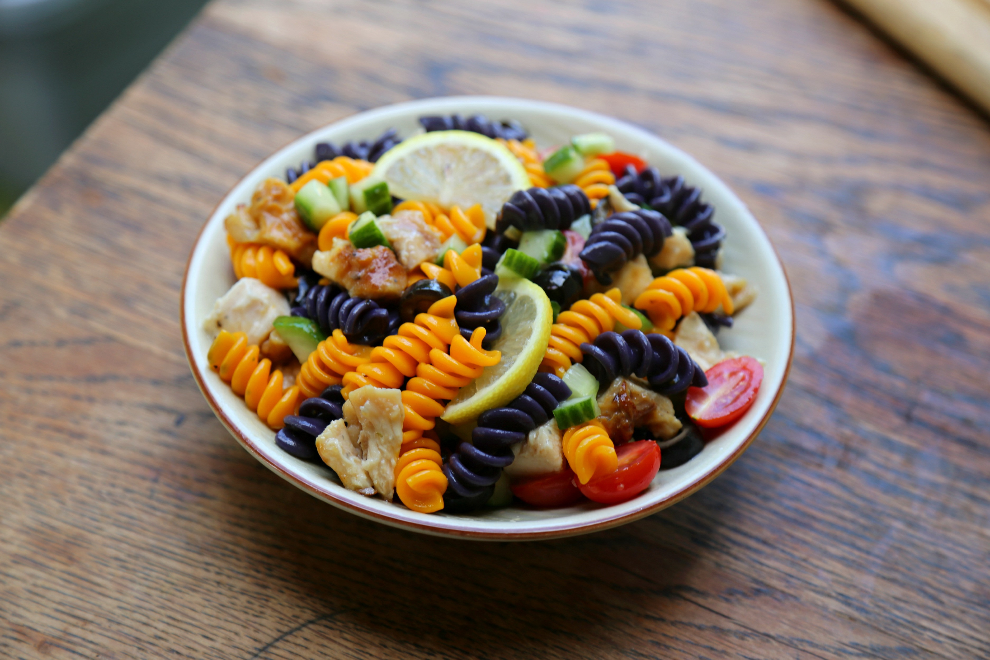 Halloween Pasta Salad  Halloween Pasta Salad Applegate Giveaway Sweet Life