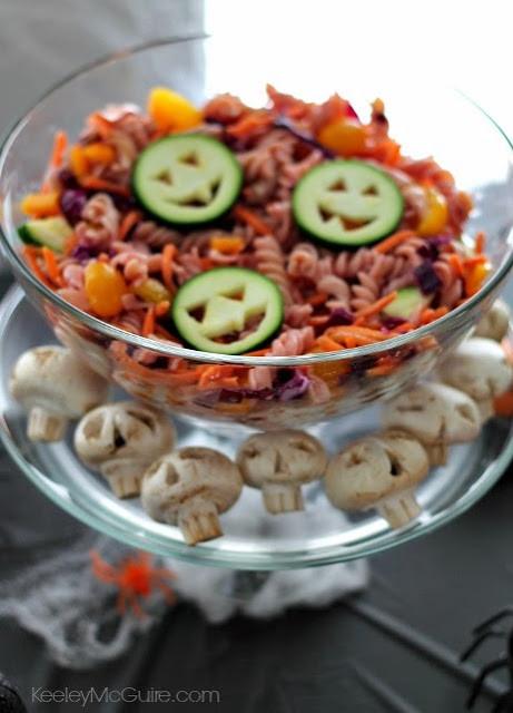 Halloween Pasta Salad  Gluten Free & Allergy Friendly Halloween Cute Food