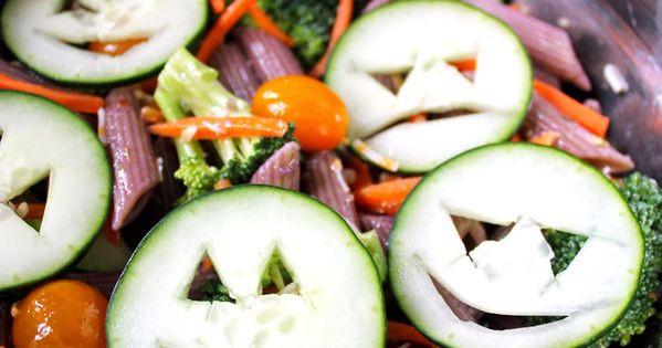 Halloween Pasta Salad  Healthy Halloween Pasta Salad Recipe