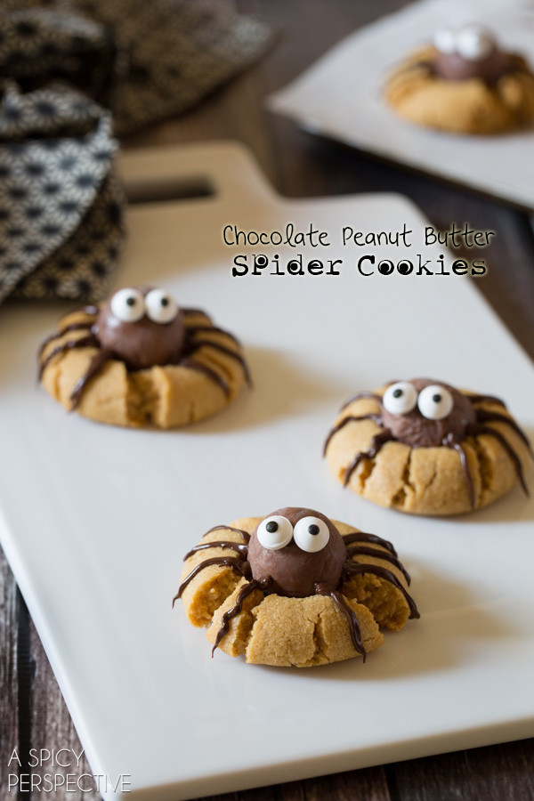 Halloween Peanut Butter Cookies  8 Spooky Spider Halloween Ideas
