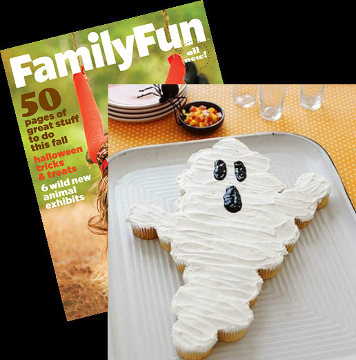 Halloween Pull Apart Cupcakes  Pull Apart Ghost Cupcake Cake Lindsay Ann Bakes