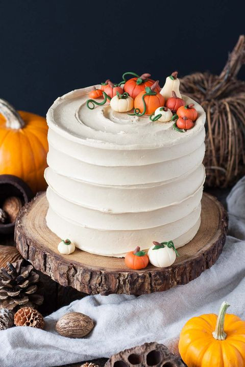 Halloween Pumkin Cakes  70 Easy Halloween Cakes Halloween Cake Recipes and
