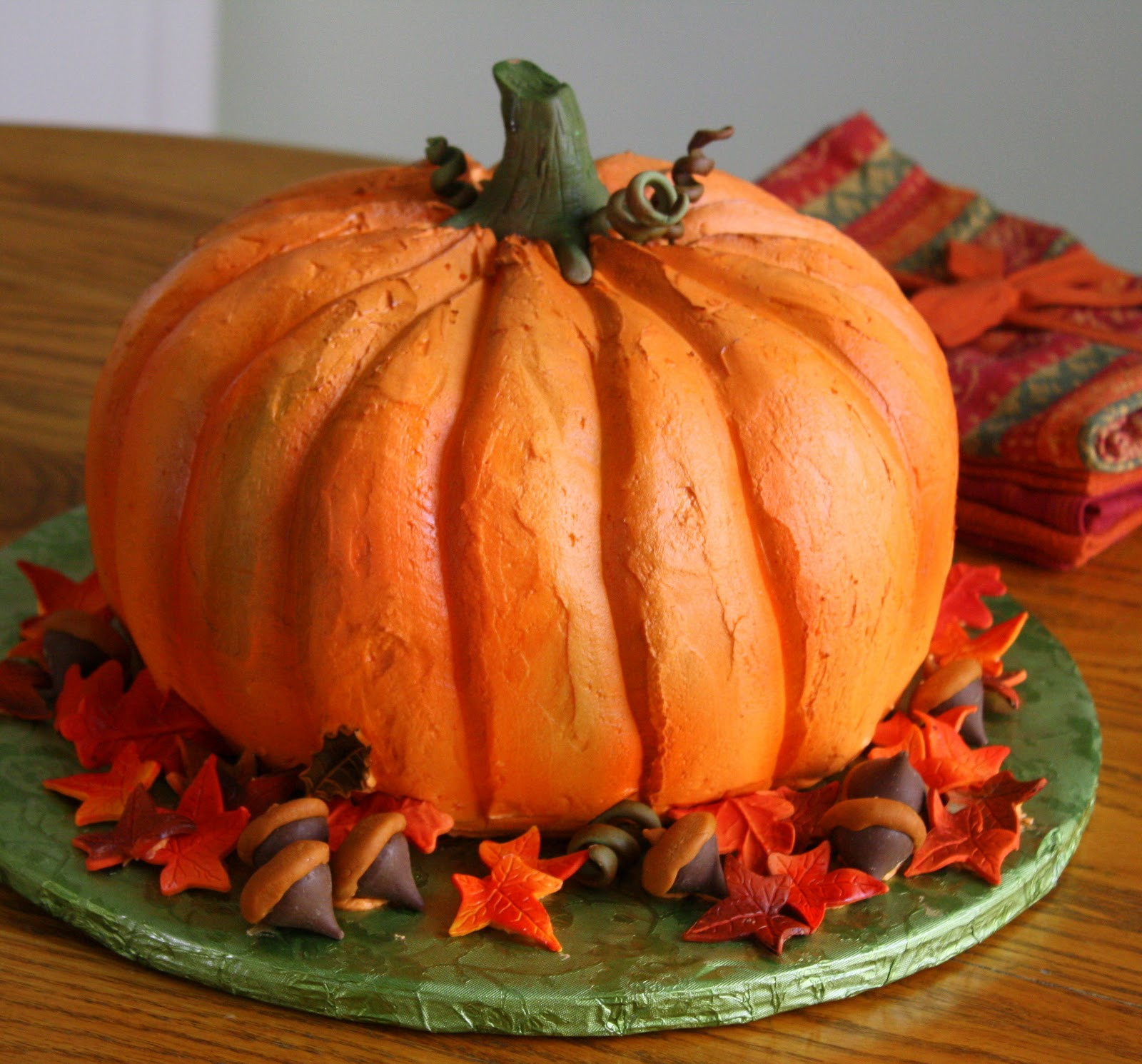 Halloween Pumkin Cakes  Jane s Sweets & Baking Journal The Cake that Thinks it s