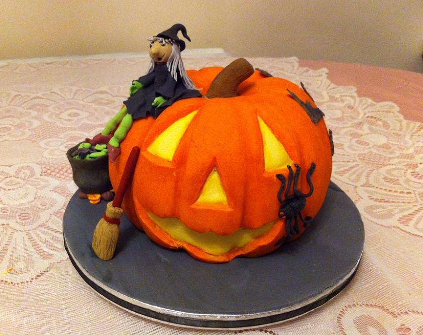 Halloween Pumpkin Cake  Celebration Cakes in Southwick Brighton – Flair4Cakes