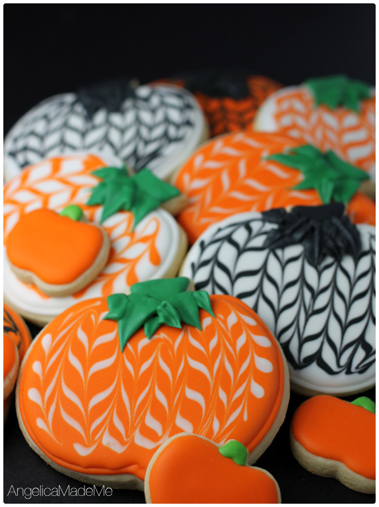 Halloween Pumpkin Cookies  holiday Archives AngelicaMadeMe