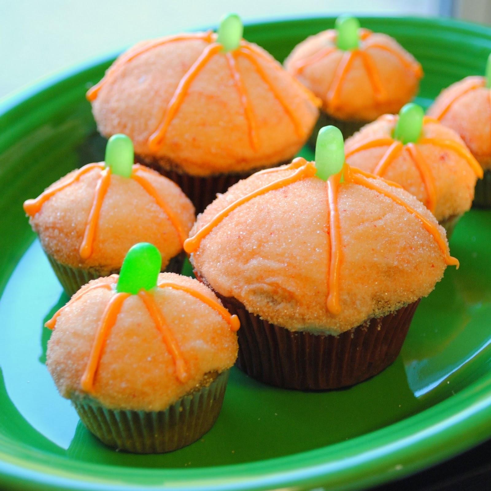 Halloween Pumpkin Cupcakes  Hd Wallpapers Blog Halloween Pumpkin Cupcakes