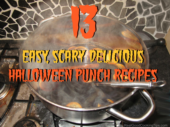 Halloween Punch Bowl Recipes  Easy Scary Delicious Halloween Punch Recipes for Kids and