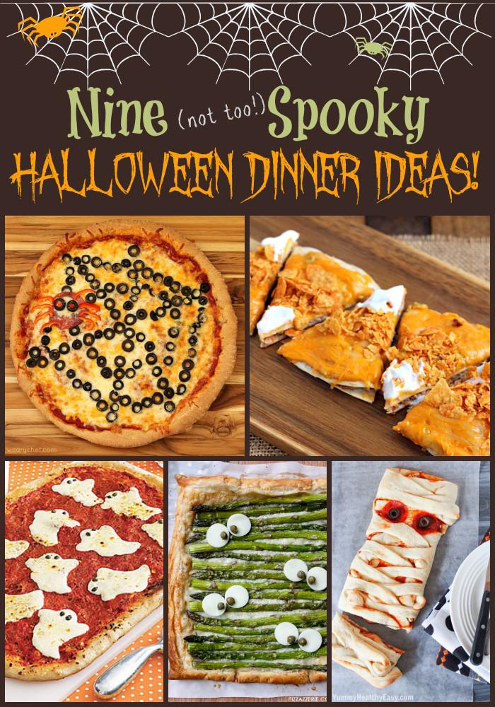 Halloween Recipes Dinner  Fun Halloween Dinner Ideas The Weary Chef