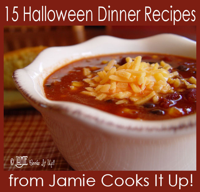 Halloween Recipes Dinner  15 Halloween Dinner Recipes