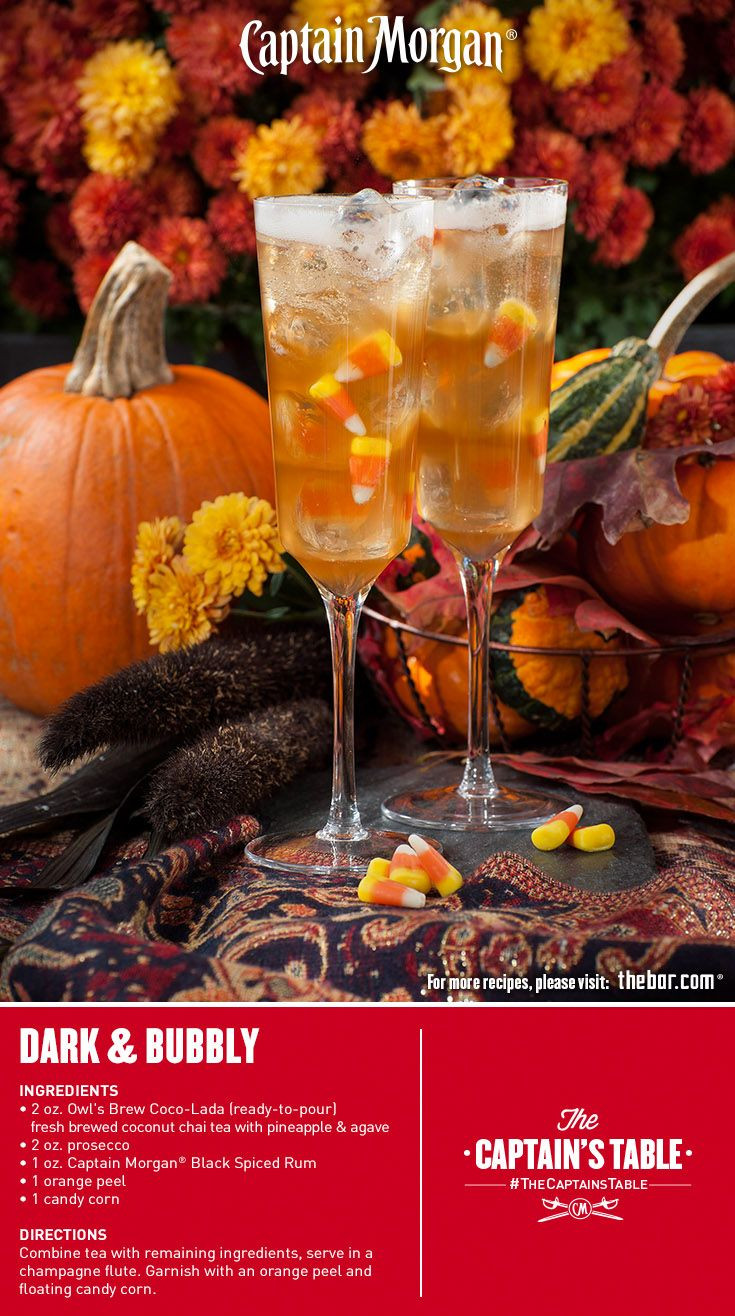Halloween Rum Drinks  17 best images about Tea Cocktails on Pinterest