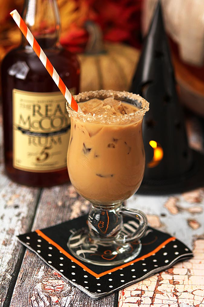 Halloween Rum Drinks  The Halloween Express – Rum Espresso Maple Syrup and
