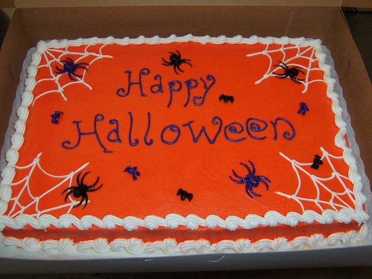 Halloween Sheet Cakes  Best 25 Sheet cake designs ideas on Pinterest
