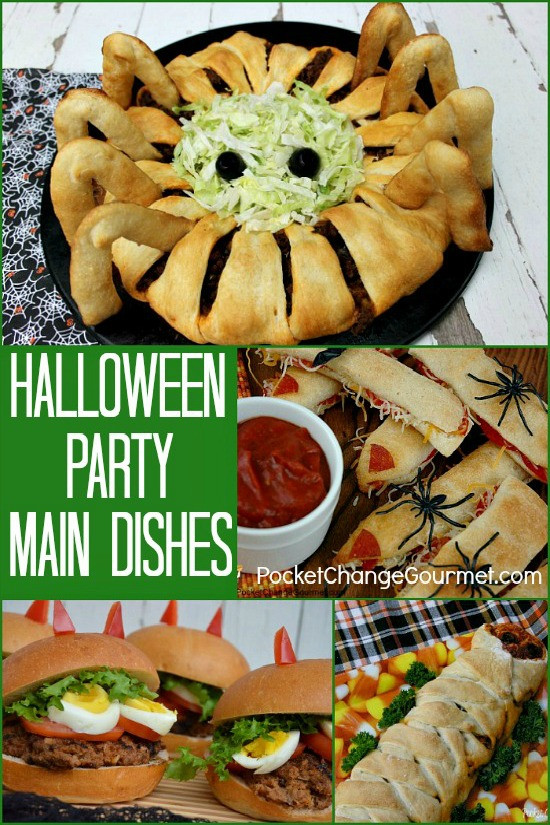 Halloween Side Dishes For Parties  halloween main dishes