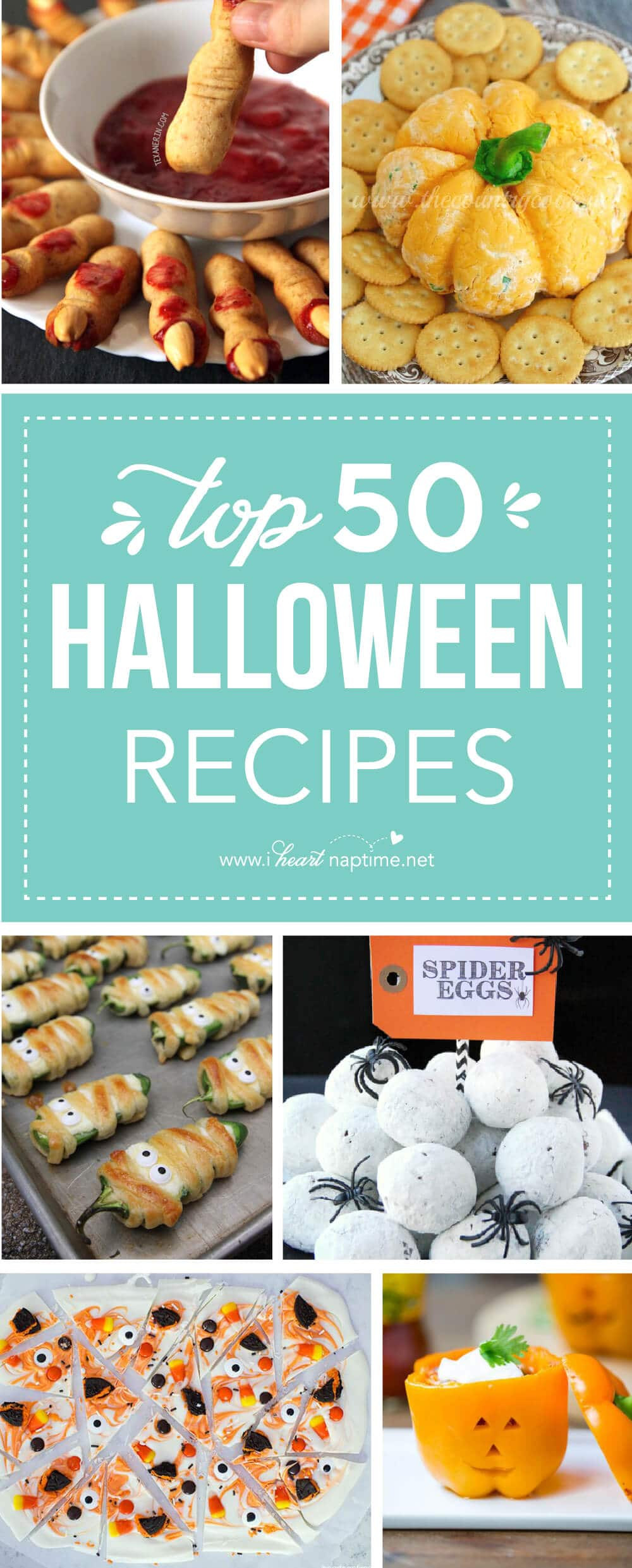 Halloween Side Dishes For Parties  Top 50 Halloween Recipes I Heart Nap Time