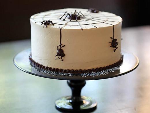 Halloween Spider Cakes  Happy Halloween Cake ZoëBakes