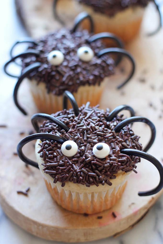 Halloween Spider Cupcakes  20 Adorably Spooky Halloween Treats