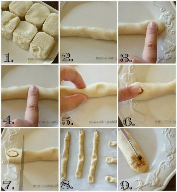 Halloween Sugar Cookies Fingers  Witch Fingers Made With Sugar Cookies Halloween