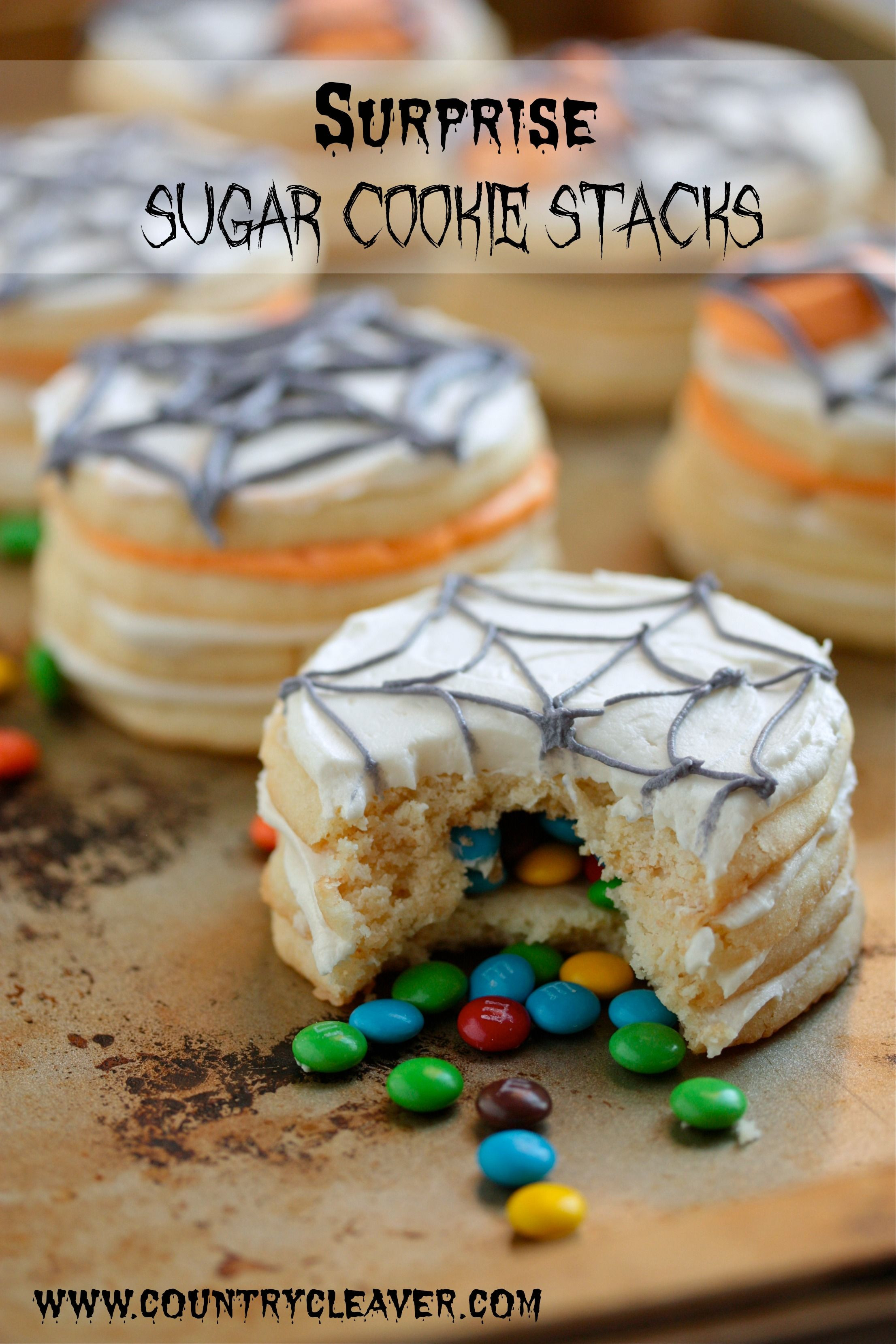 Halloween Sugar Cookies Pillsbury  Surprise Sugar Cookie Stacks and iPad Mini Giveaway