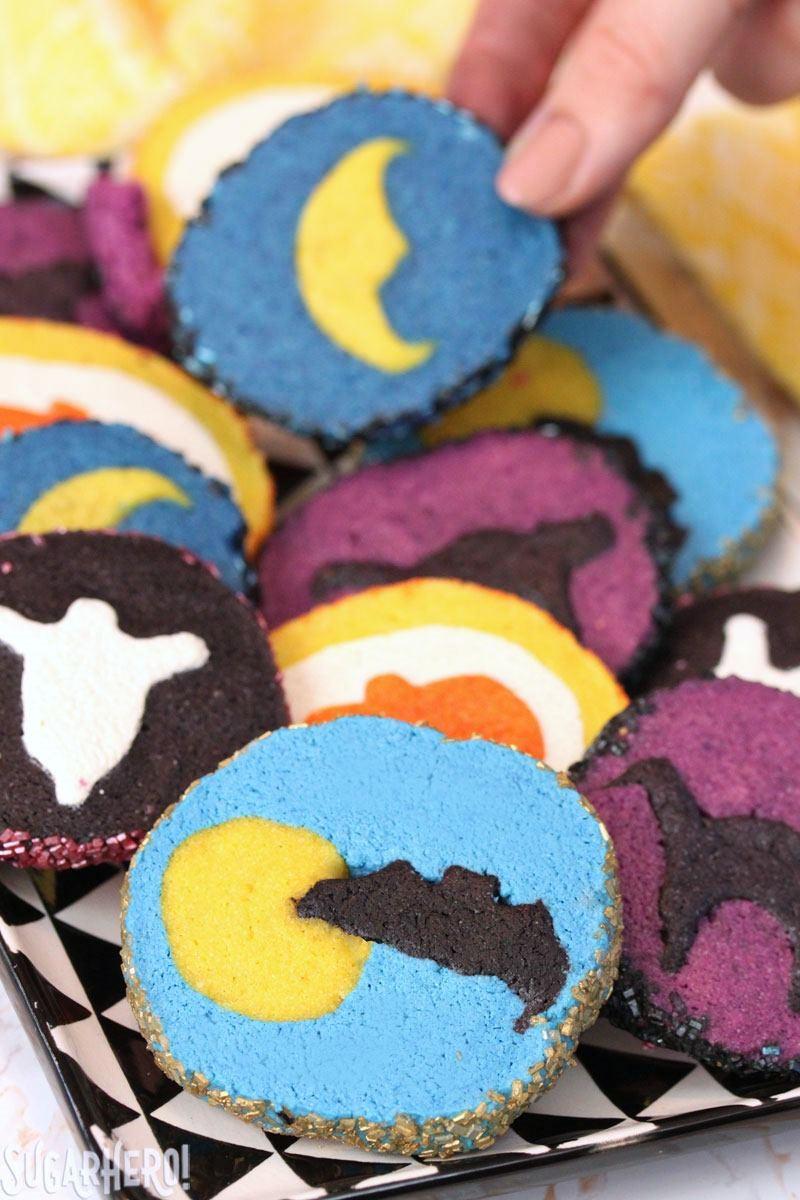 Halloween Sugar Cookies Recipes  Slice and Bake Halloween Cookies SugarHero