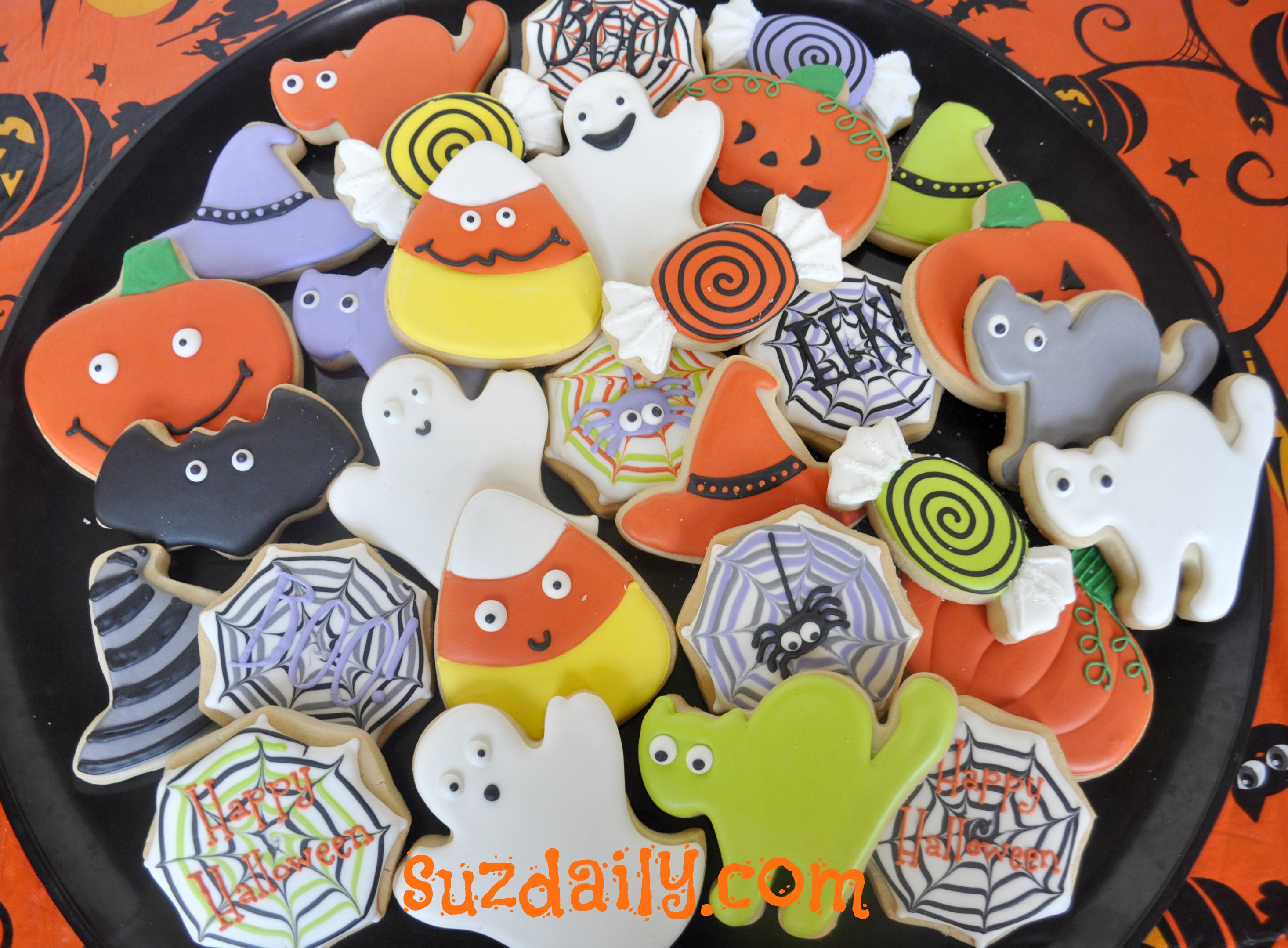 Halloween Sugar Cookies Walmart  How to Decorate Halloween Cookies – Suz Daily