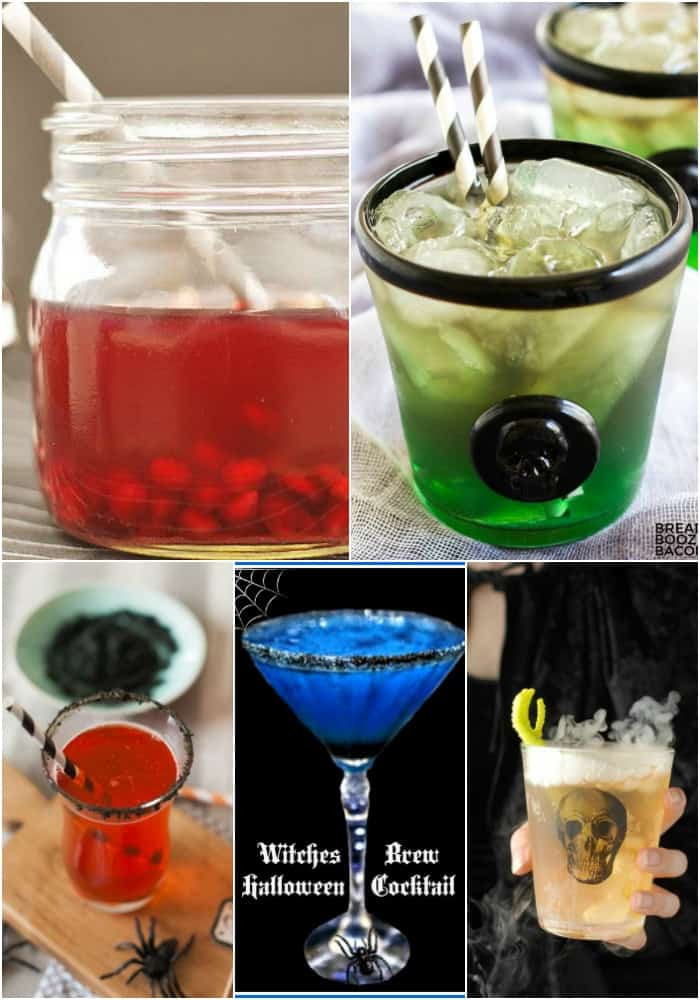 Halloween Themed Alcoholic Drinks  25 Halloween Cocktails ⋆ Real Housemoms