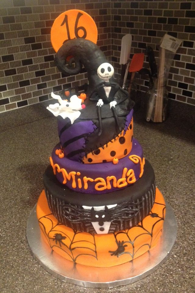 Halloween Themed Birthday Cakes  36 best Desserts by Dana images on Pinterest
