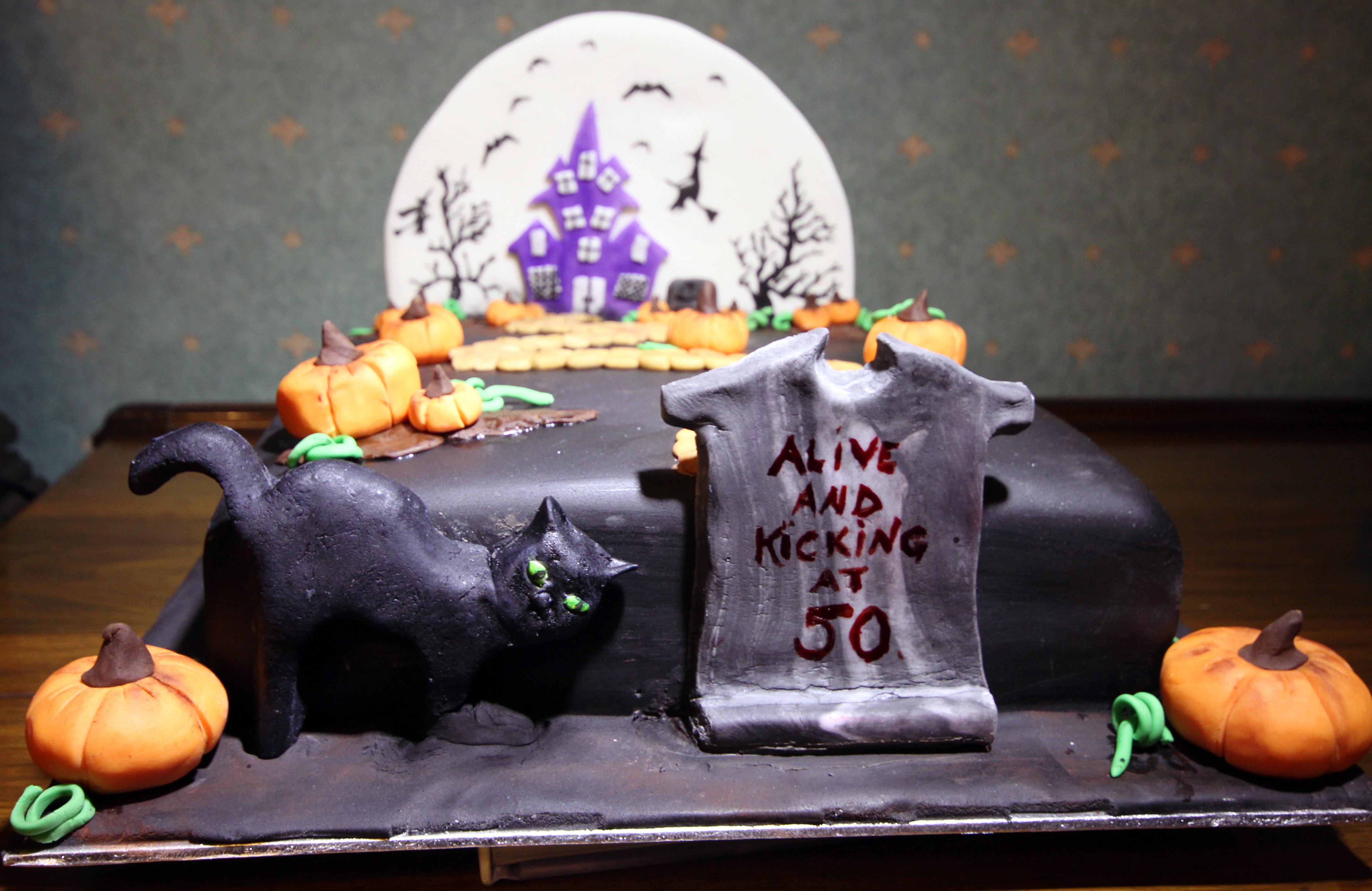 Halloween Themed Birthday Cakes  Halloween Birthday cake