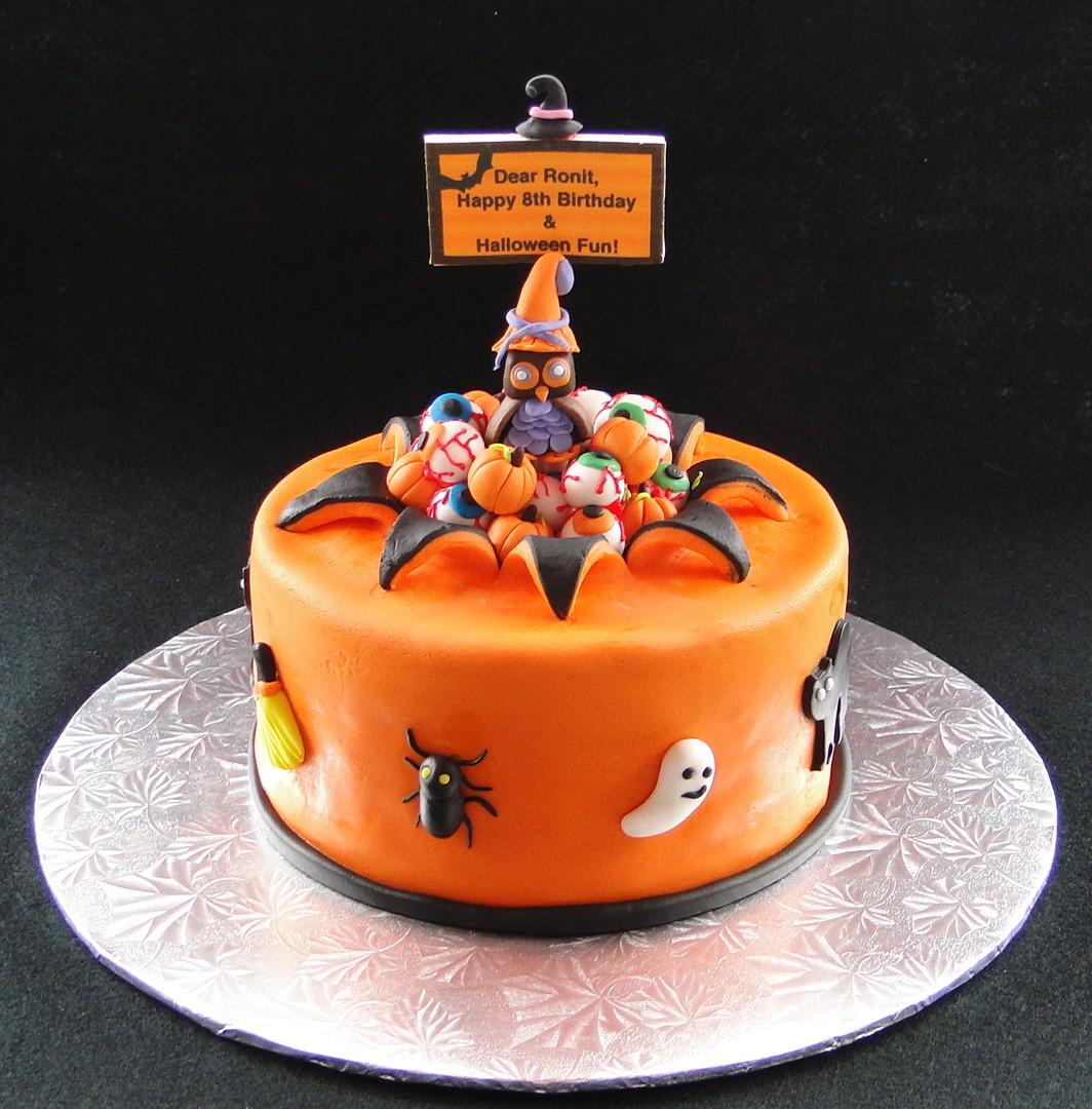 Halloween Themed Birthday Cakes  Baking Maniac GF Halloween Themed Birthday Cake