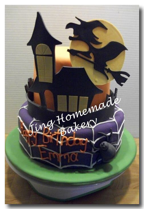 Halloween Themed Birthday Cakes  Image from thdaycake s wp content