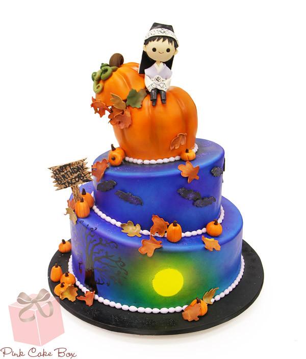 Halloween Themed Birthday Cakes  16 SPOOKtacular Halloween Cake Ideas Pink Cake Box