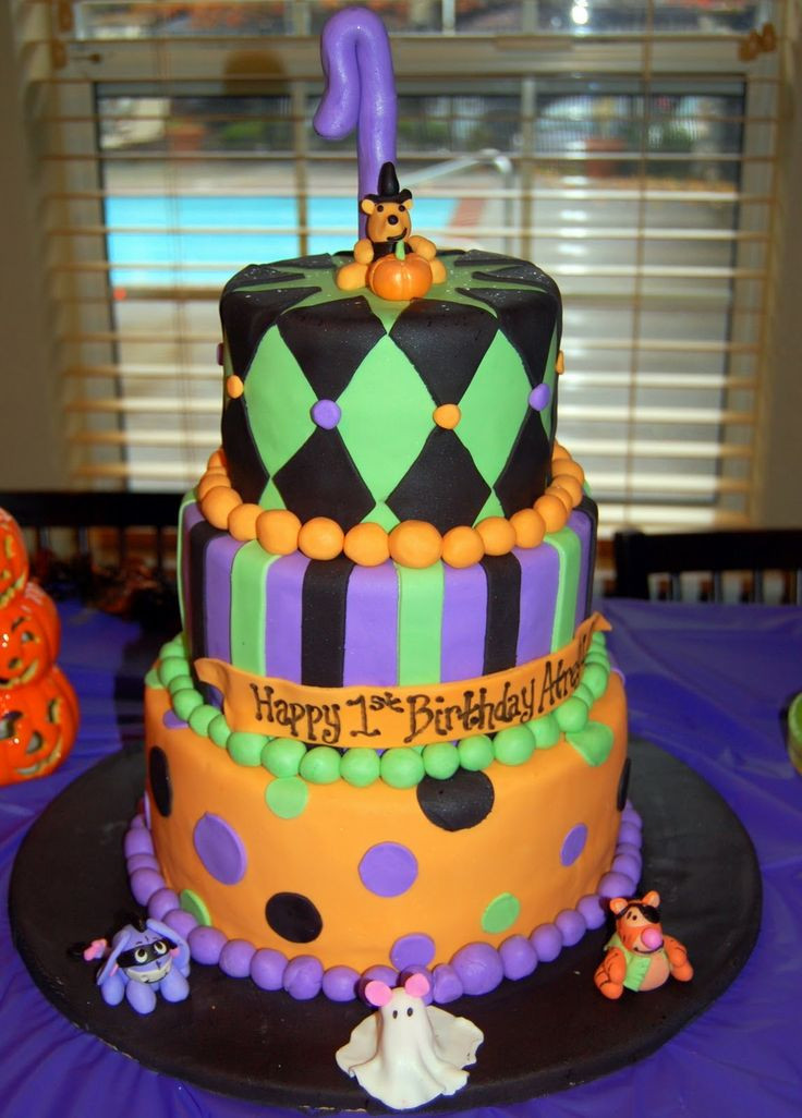 Halloween Themed Birthday Cakes  Image detail for Rockin Baby Shower and a Winnie the