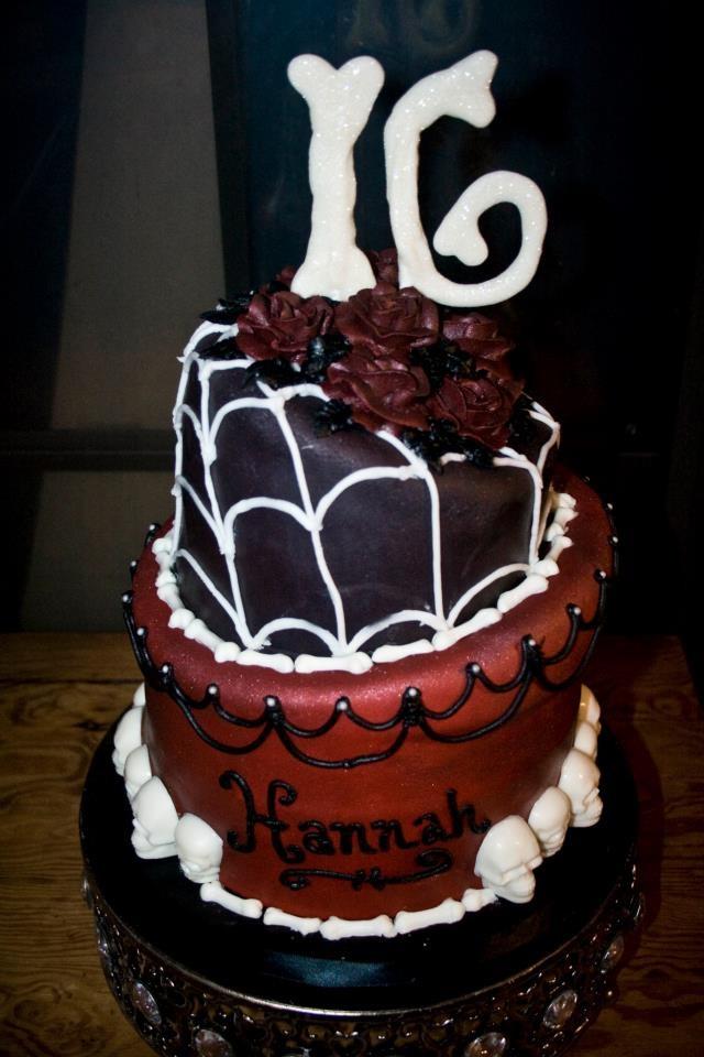 Halloween Themed Birthday Cakes  78 ideas about Halloween Sweet 16 on Pinterest