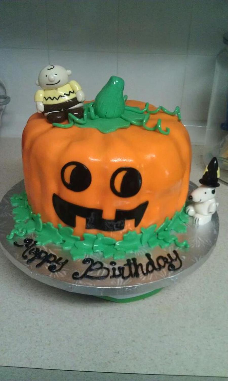 Halloween Themed Birthday Cakes  Halloween Themed Birthday Cake CakeCentral