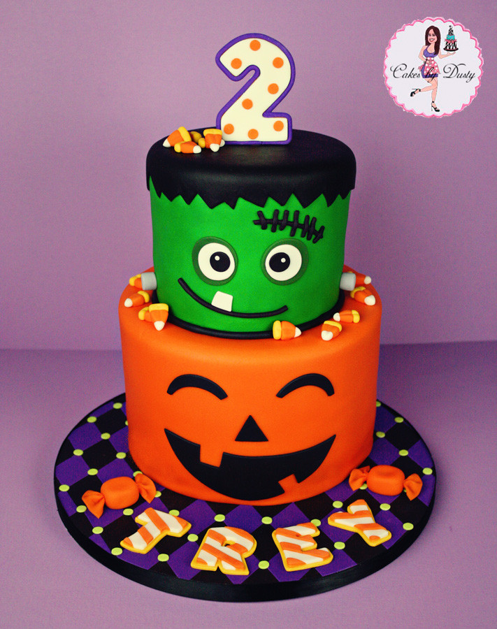 Halloween Themed Cakes  Cakes by Dusty Trey s Halloween Birthday Cake