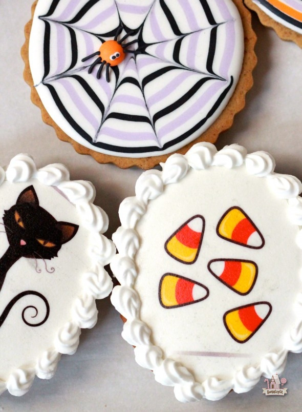 Halloween Themed Cookies  Easy Decorated Cookies for Halloween