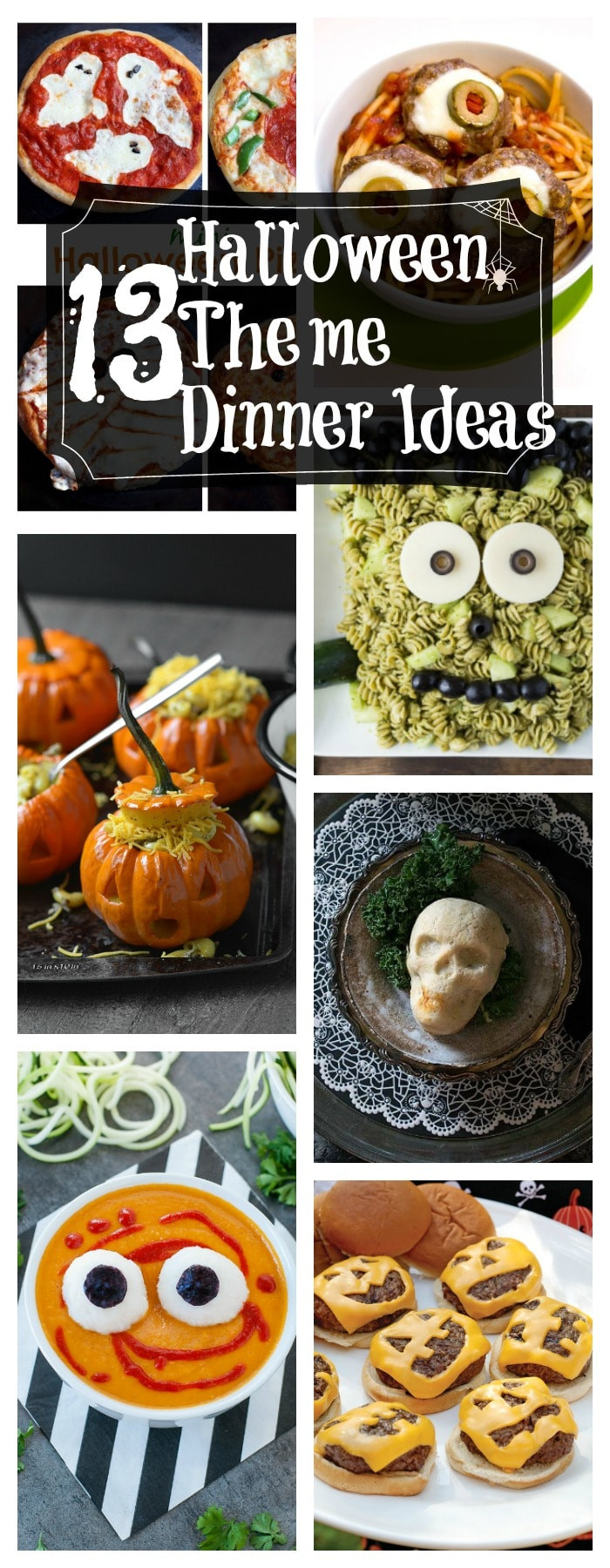 Halloween Themed Dinner  13 Healthy Halloween Themed Dinner Ideas