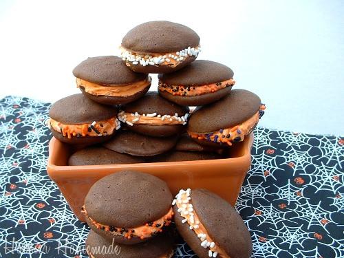 Halloween Whoopie Pies  Halloween Treats Hoosier Homemade