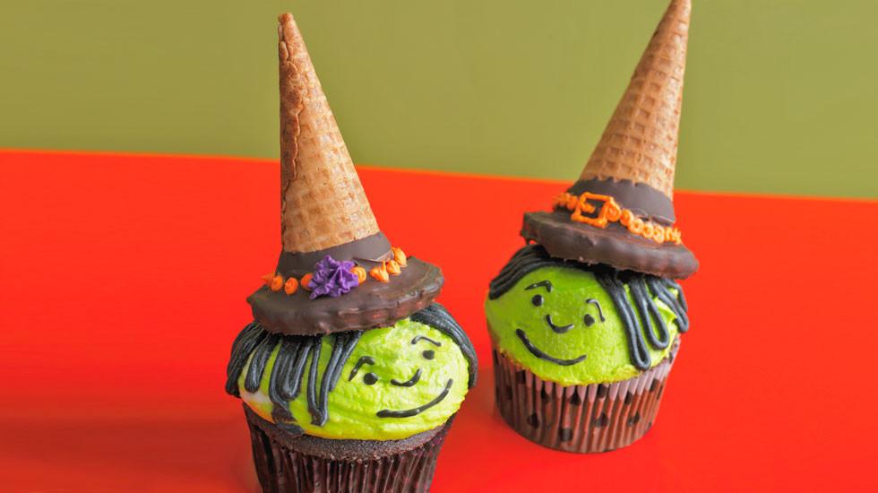 Halloween Witch Cupcakes  Sweet & Spooky Halloween Cupcake Ideas