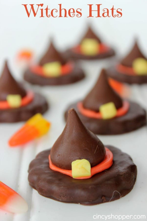 Halloween Witch Hat Cookies  12 Halloween Crafts and Recipes