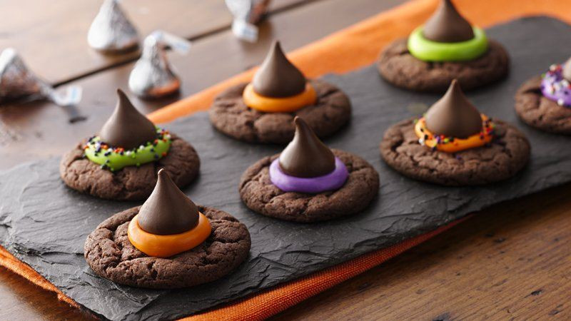 Halloween Witch Hat Cookies  Easy Witch Hat Cookies Recipe