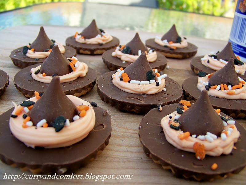 Halloween Witch Hat Cookies  Kitchen Simmer Halloween Witch s Hat Cookies