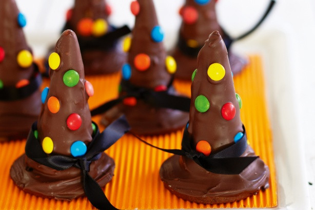 Halloween Witch Hat Cookies  Witch s Hat Cookies Recipe Taste
