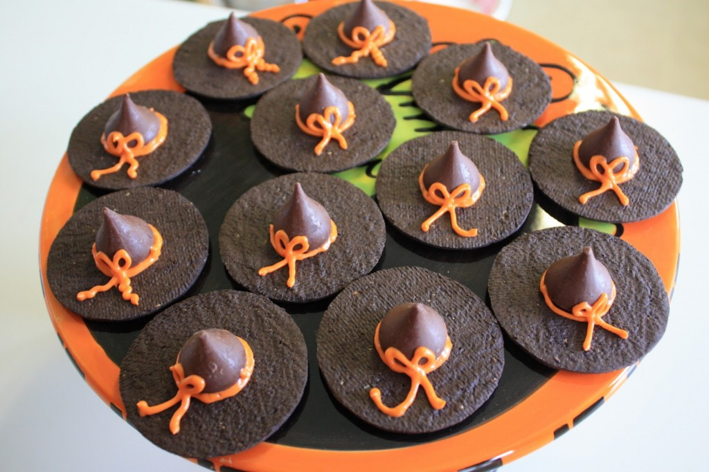 Halloween Witches Hats Cookies  Witches Hats and Broomstick Cookies Acadiana s Thrifty Mom