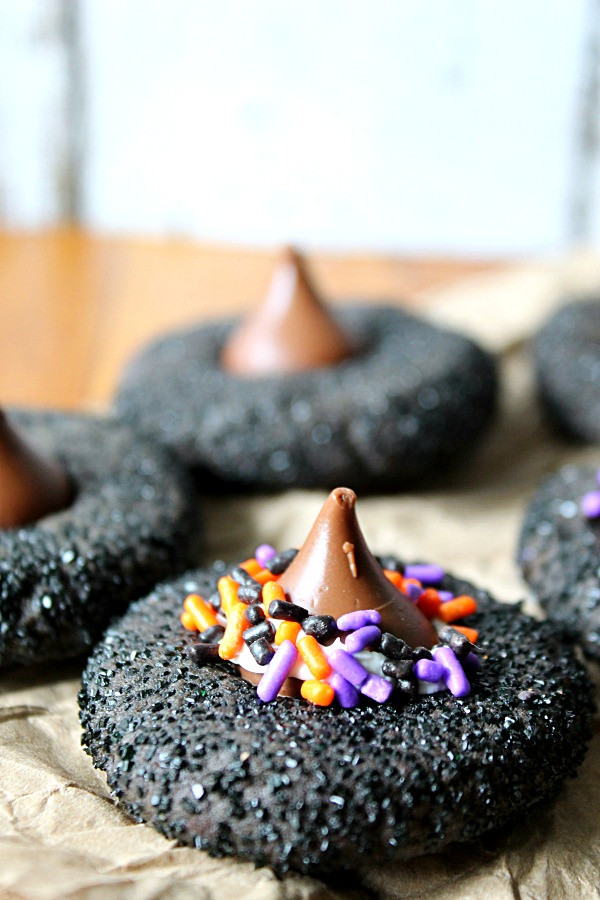 Halloween Witches Hats Cookies  Witch Hat Peanut Butter Cookies