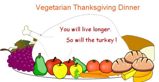 Happy Thanksgiving Vegetarian  Mama Dunlap Writes