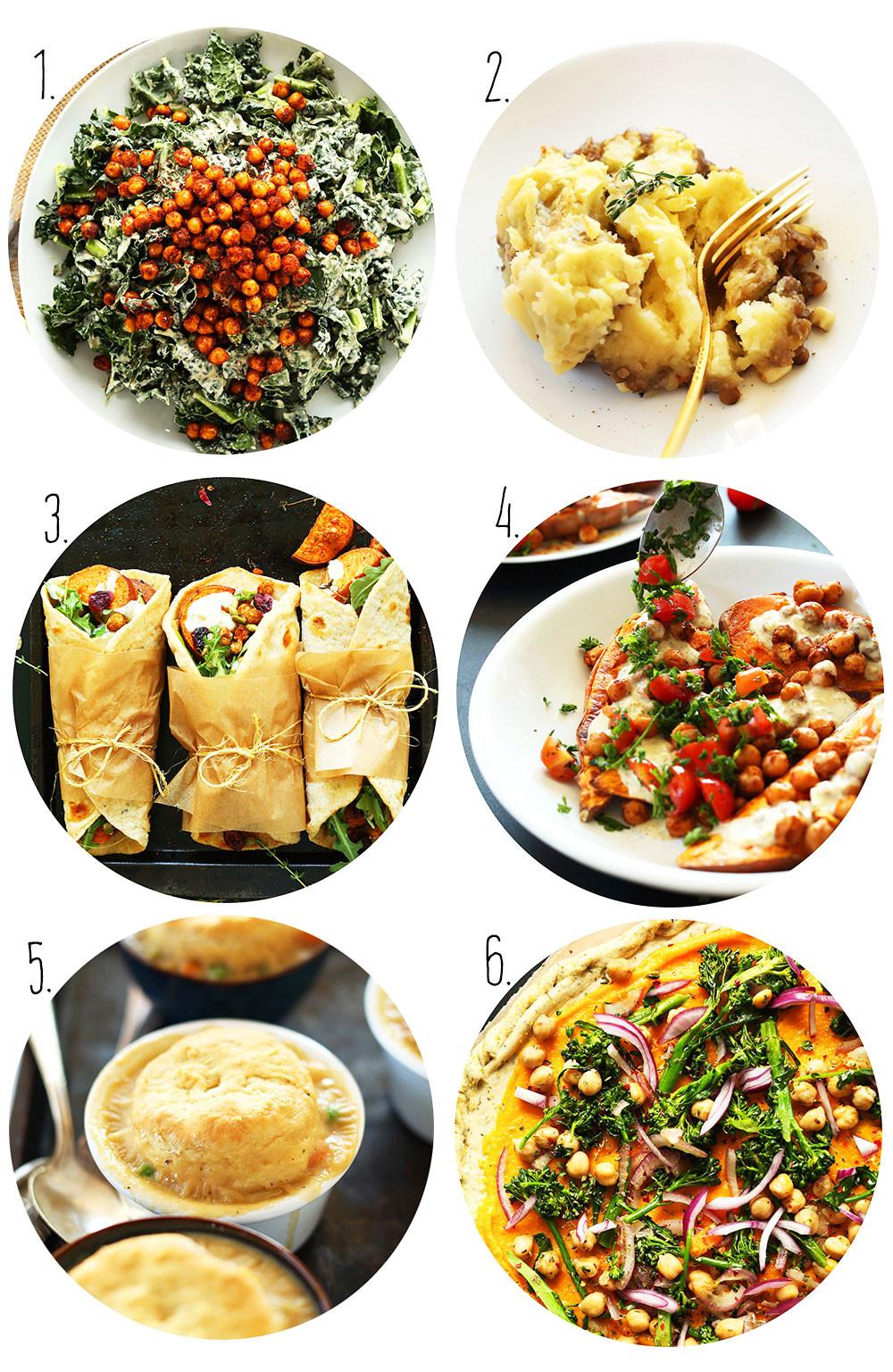 Happy Thanksgiving Vegetarian  Vegan Thanksgiving Recipes