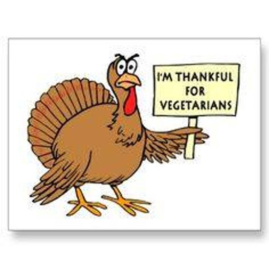 Happy Thanksgiving Vegetarian  12 Really Hilarious and Funny Turkey Thanksgiving Memes